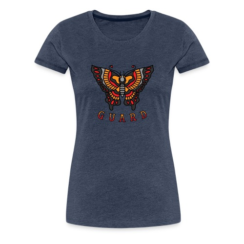 Butterfly Guard - Women's Premium T-Shirt