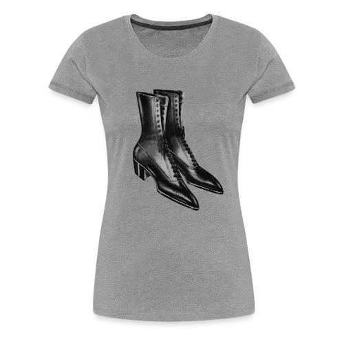 Zapatos Negros - Women's Premium T-Shirt