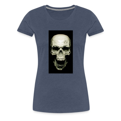 Skull design - Women's Premium T-Shirt