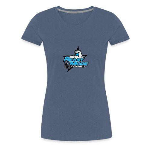 BEAST-MODE STRENGHT DESIGN - Women's Premium T-Shirt