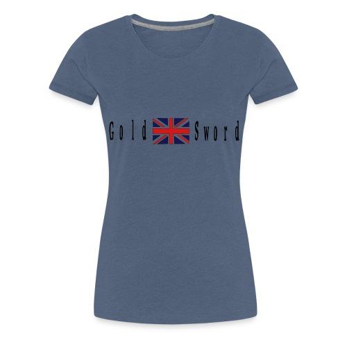 UK Gold and Sword D Day Beaches - Women's Premium T-Shirt