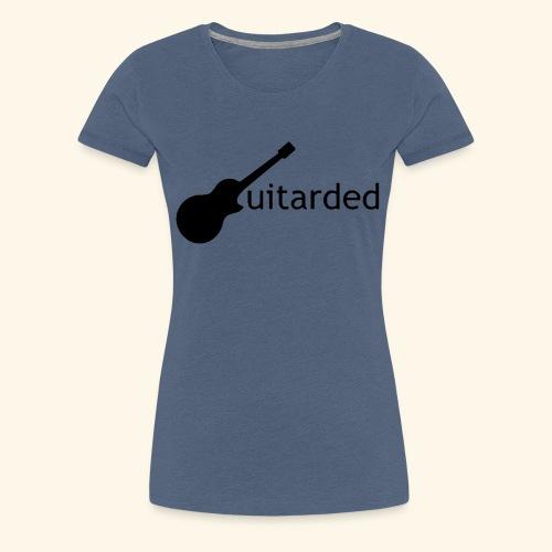 Guitarded - Women's Premium T-Shirt