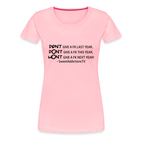 quote1copy png - Women's Premium T-Shirt