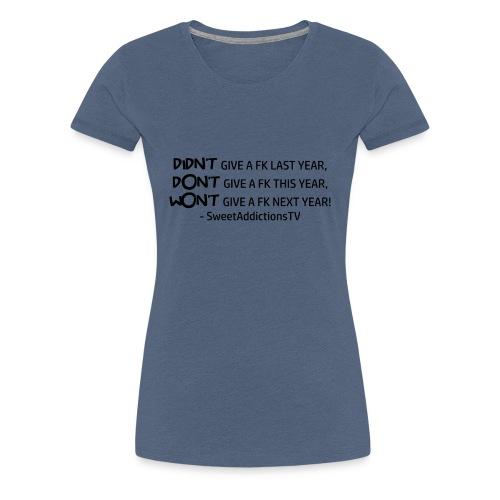 quote1copy png - Women's Premium T-Shirt