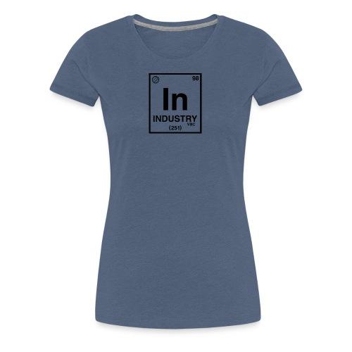 PeriodicLogoScreen - Women's Premium T-Shirt