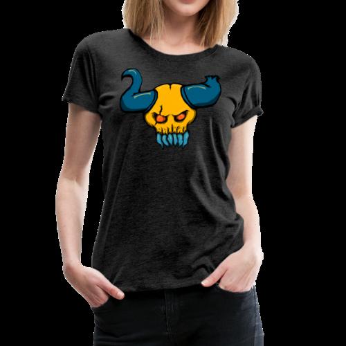 Demon Skull - Women's Premium T-Shirt