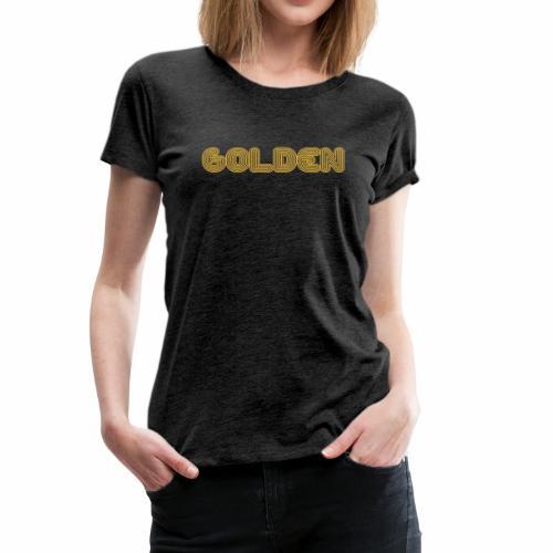 Golden - Women's Premium T-Shirt