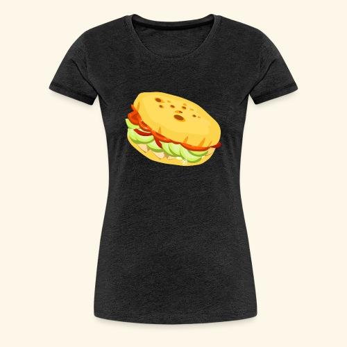 Arepa Sandwich - Women's Premium T-Shirt