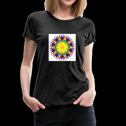 Mandala Sun - Women's Premium T-Shirt