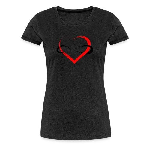 Infinity Heart - Women's Premium T-Shirt