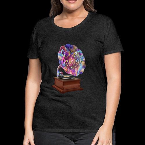 Color Of Music - Women's Premium T-Shirt