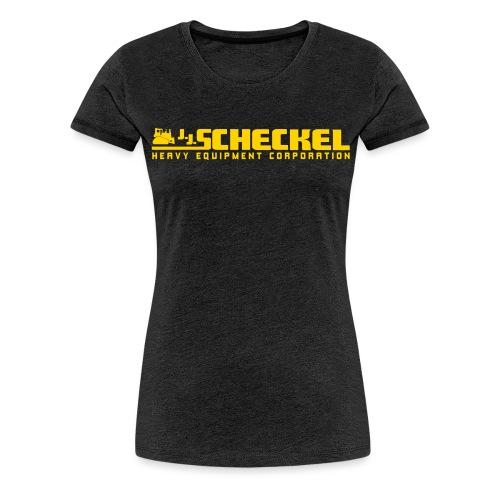 JJScheckelLogo OneColor - Women's Premium T-Shirt