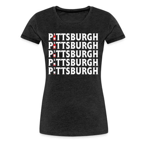Ketch Up in PGH - Women's Premium T-Shirt