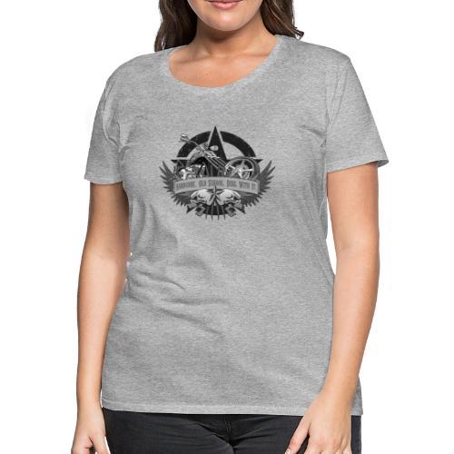 Hardcore. Old School. Deal With It. - Women's Premium T-Shirt