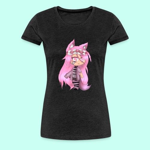 Pink Gacha Life Oc - Women's Premium T-Shirt