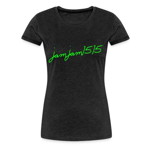 jamjam1515 Logo - Women's Premium T-Shirt