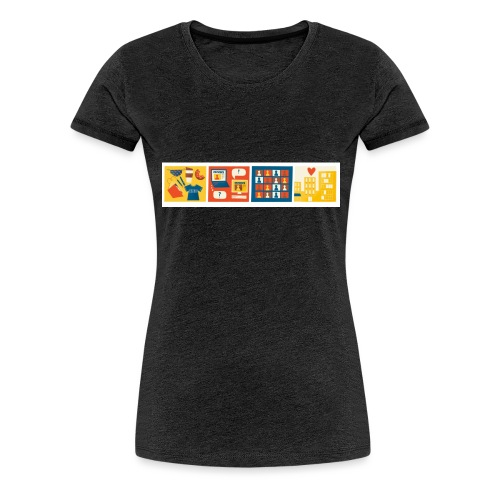 css logo 4th conf - Women's Premium T-Shirt