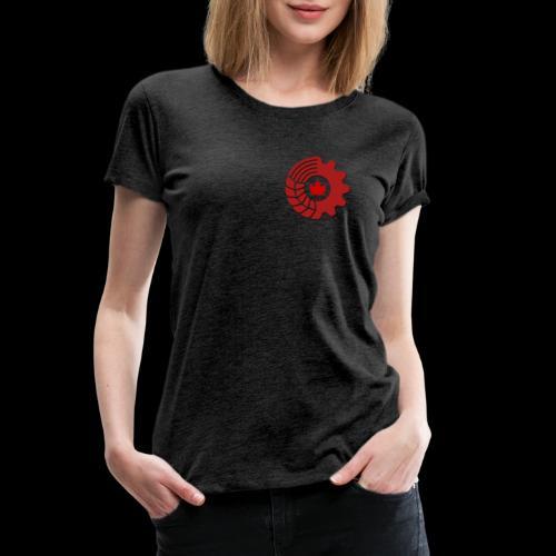 Parti communiste Canada / Parti communiste Canad - T-shirt premium pour femmes