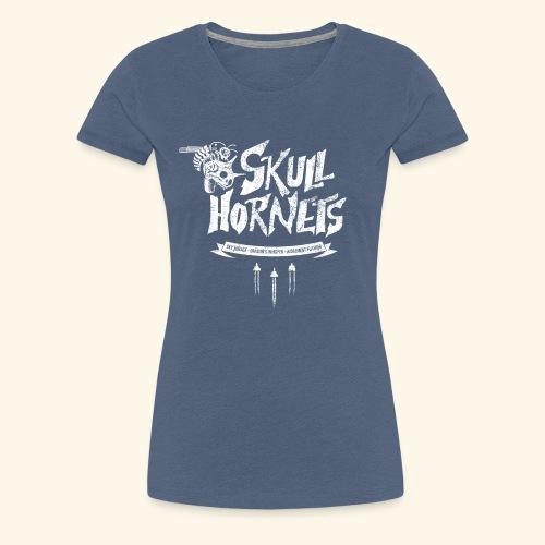 skull hornets - Women's Premium T-Shirt