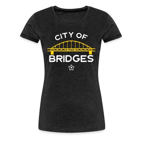 Pittsburgh City Of Bridges - Women's Premium T-Shirt