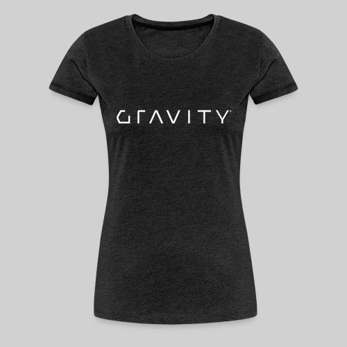 Gravity Logo - Women's Premium T-Shirt