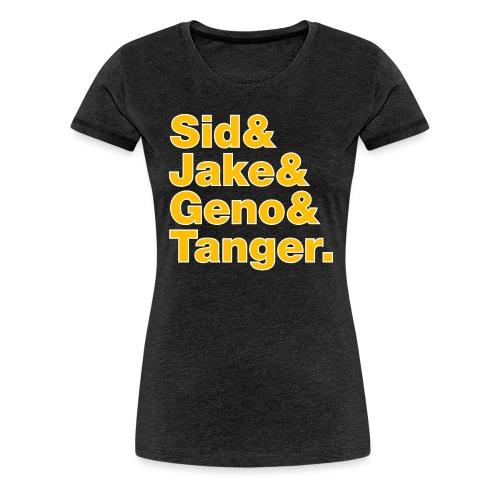 Helvetica& Hockey 2021 - Women's Premium T-Shirt