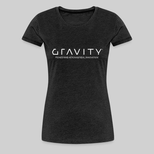 Gravity Logo with Tagline - Women's Premium T-Shirt