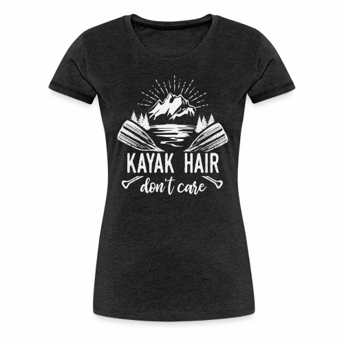 Kayak Hair - Women's Premium T-Shirt