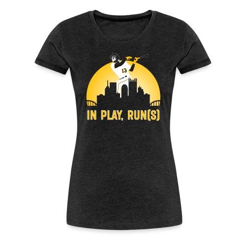 In Play, Run(s) - Women's Premium T-Shirt
