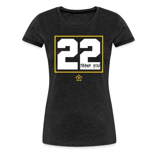 22v - Women's Premium T-Shirt