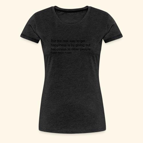 BP Happiness - Women's Premium T-Shirt