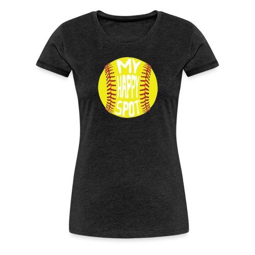 People s Republic of Burlington Softball - Women's Premium T-Shirt