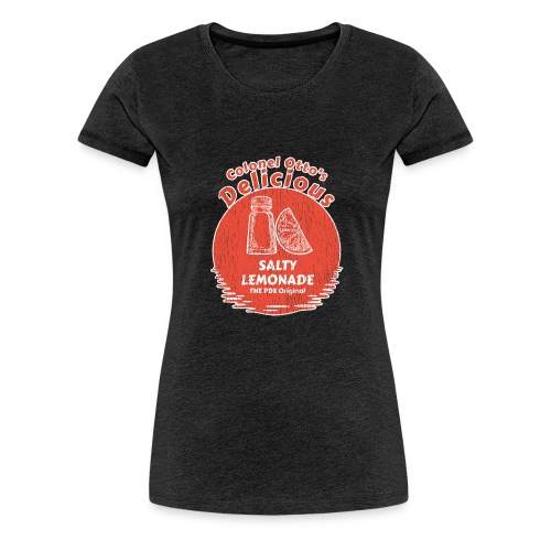 Salty Lemonade Vintage Red - Women's Premium T-Shirt