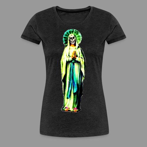 Cult Of Santa Muerte - Women's Premium T-Shirt