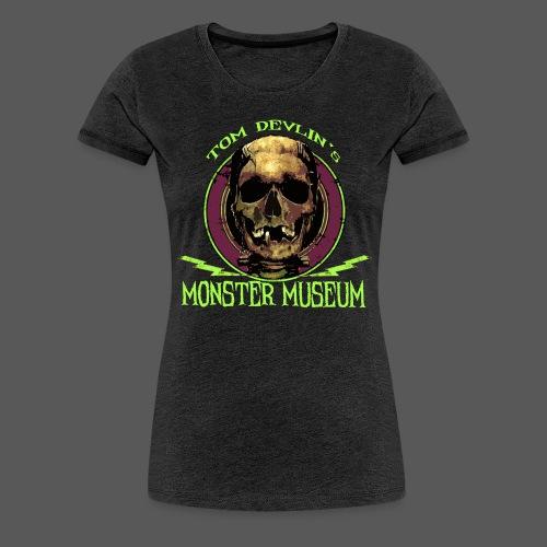 TDMM Skull Logo - Women's Premium T-Shirt