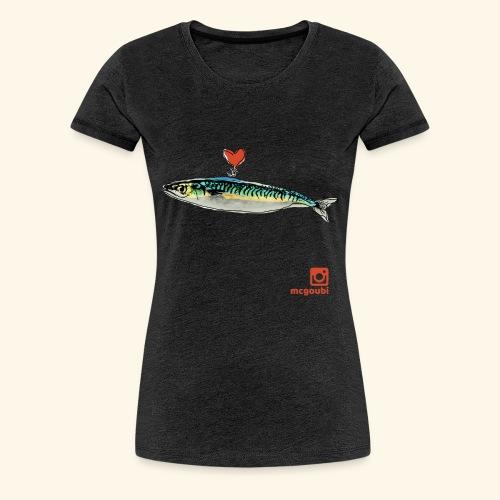 mackerel - Women's Premium T-Shirt