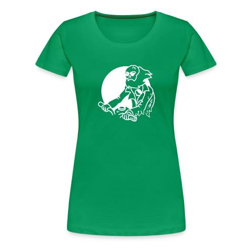 Zombie Biker - Women's Premium T-Shirt