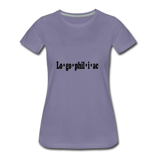 logophiliac - Women's Premium T-Shirt