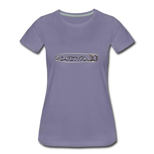 Safety Pin - Women's Premium T-Shirt