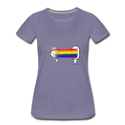 spew - Women's Premium T-Shirt