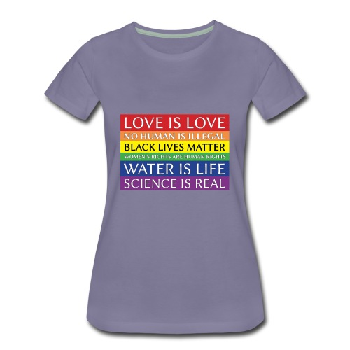 rainbow solidarity - Women's Premium T-Shirt