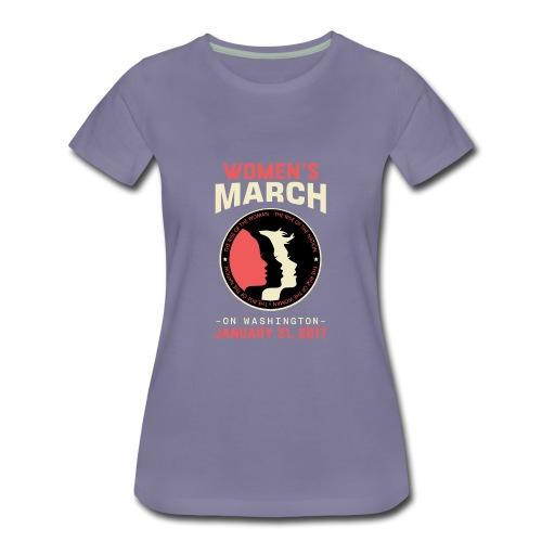 Women's March Washington - Women's Premium T-Shirt