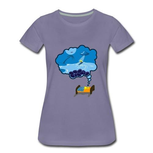 Strainge - Blue Dream Marijuana Strain shirt - Women's Premium T-Shirt