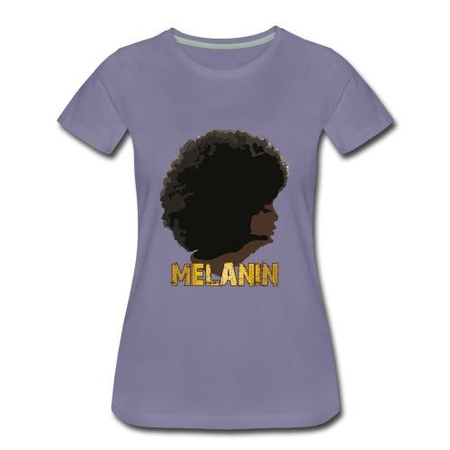 Melanin Addiction - Women's Premium T-Shirt