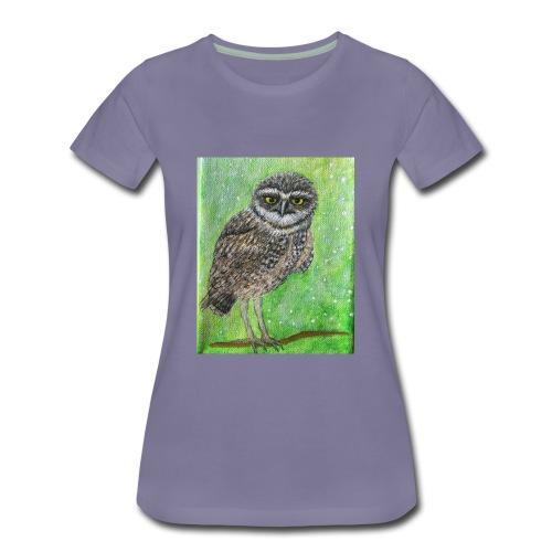 IMG 8818 Wise Owl - Women's Premium T-Shirt