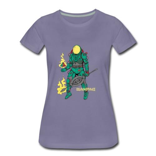 Afronaut - Women's Premium T-Shirt