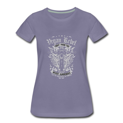 Vegan Rebel - Women's Premium T-Shirt