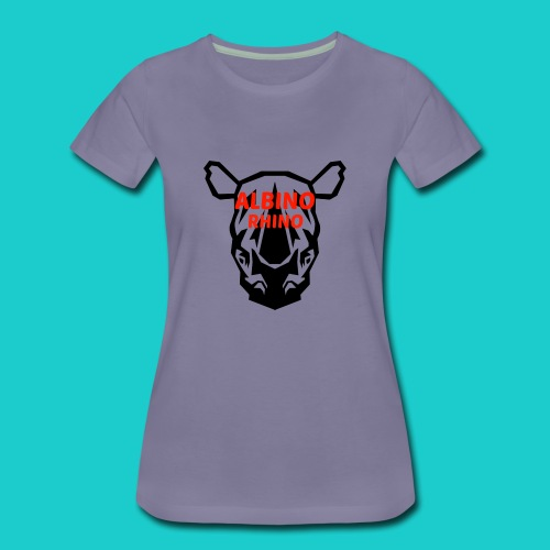 Youtube logo red - Women's Premium T-Shirt