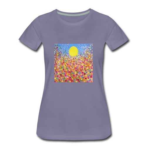 Wildflower Meadows - Women's Premium T-Shirt
