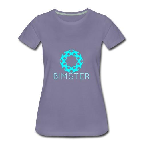 Bimster YouTube Channel Logo - Women's Premium T-Shirt